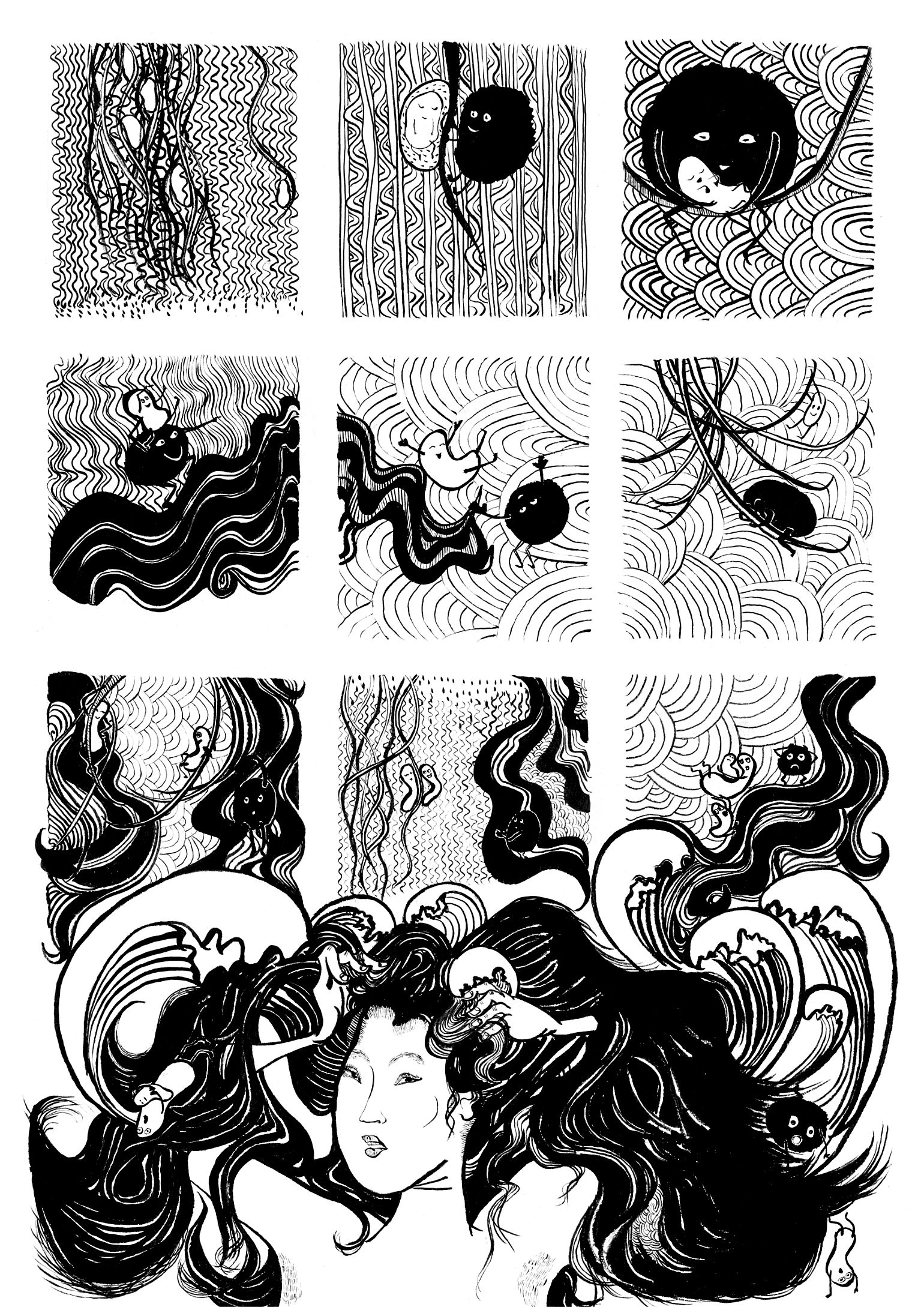 hair-waves-comic-strip